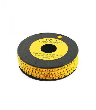 شماره سیم حلقه ای EC-1 برای سیم های 2.6 تا 4.2 میلی متر