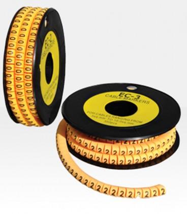شماره سیم حلقه ای EC-3 برای سیم های 8 تا 11.9 میلی متر