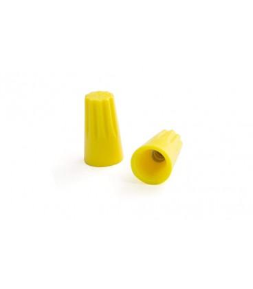 کانکتور پیچی زرد