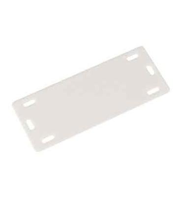 پلاک کابل پلاستیکی سفید مدل MP-4