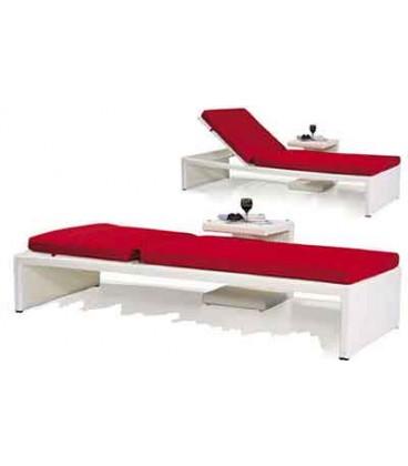 تخت کنار استخر قرمز HYPERPOOL مدل 109024B